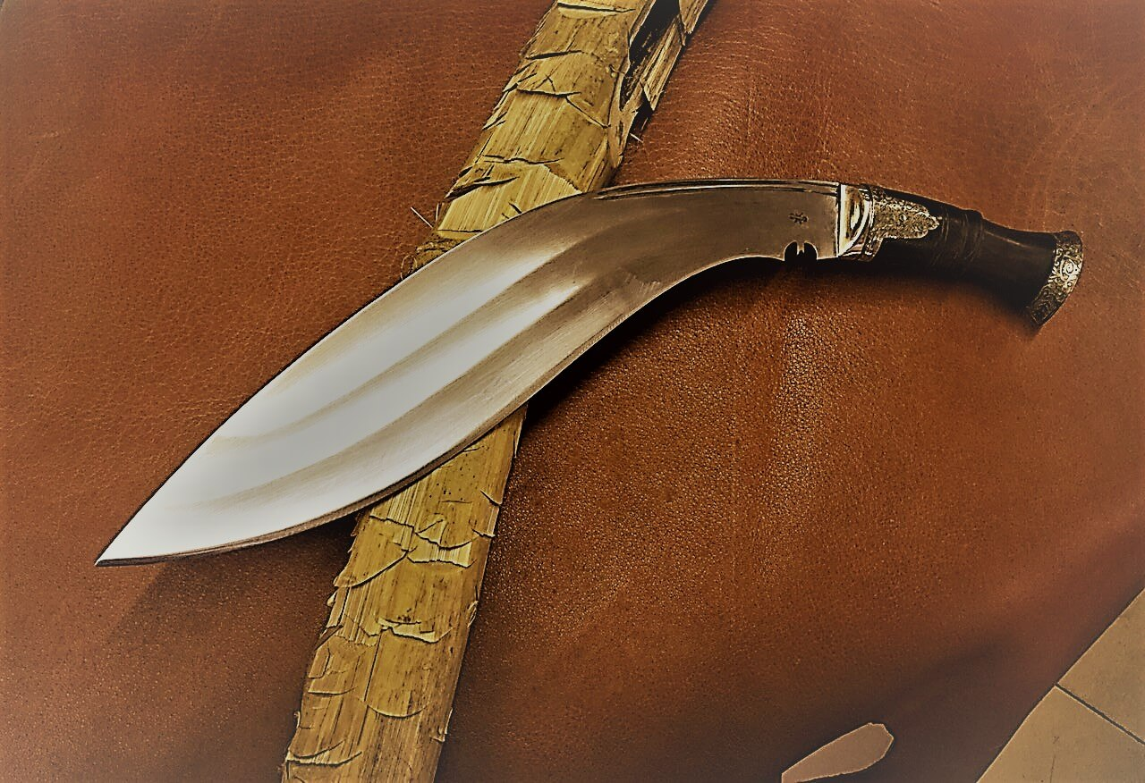 14.5″ 3 Fuller Old Officer Nepalese Army Khukuri